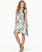 Soma Intimates Sleeveless Printed Trapeze Dress