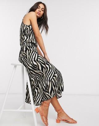 B.young zebra print skirt