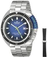 Edox Men's 80301 3NBU NBU Hydro Sub Analog Display Swiss Automatic Silver Watch