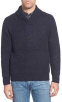 Schott NYC Men's Regular Fit Shawl Collar Sweater