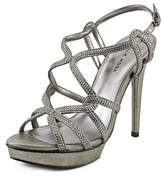 Pelle Moda Flirt Women Open Toe Suede Platform Sandal.