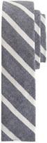 The Hill-Side narrow border stripe tie