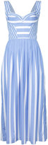 Ermanno Scervino striped sundress - women - Cotton - 40