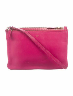 Celine Small Trio Crossbody Bag Fuchsia
