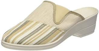 Rondinaud Women SPORAL-A00751-1-0264 Slippers Beige Size: