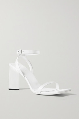 Balenciaga Moon Leather Sandals - White