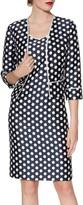 Gina Bacconi Beverly Spot Print Dress And Jacket