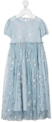 Stella McCartney Kids Star Tulle Dress