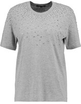 Markus Lupfer Alex Crystal-Embellished Cotton-Blend Jersey T-Shirt
