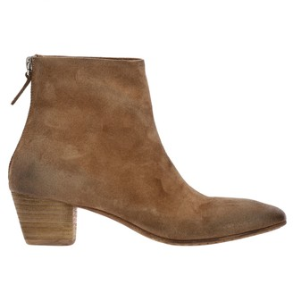 Marsèll Zip Coltello Winter Suede Ankle Boots