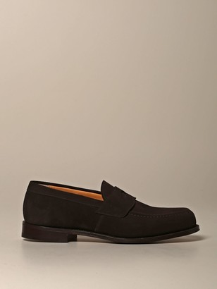 Church's Churchs Loafers Dawley Churchs Suede Moccasin With Sleeper
