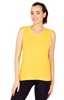 Betsey Johnson Strappy Back Muscle Tee