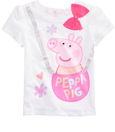 Nickelodeon Nickelodeon's Peppa Pig T-Shirt, Toddler and Little Girls (2T-6X)
