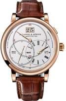 A. Lange & Söhne A. Lange and Sohne Richard Lange Terraluna 180.032 18K Rose Gold / Leather 45.5mm Mens Watch