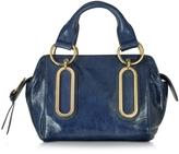 See by Chloe Paige Small Glazed Leather Handbag