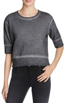 J Brand Sanora Crop Sweatshirt