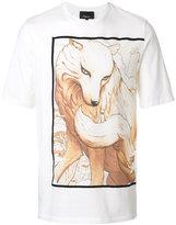 3.1 Phillip Lim Graphic T-shirt - men - Cotton - XS