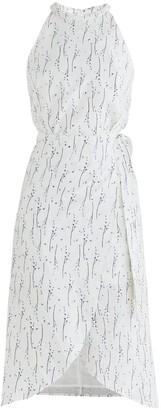Paisie Eastbourne Floral Wrap Dress