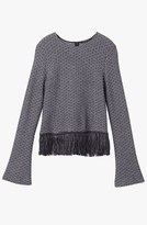 Derek Lam Fringe Detail Top