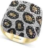 Effy Diamond Animal Pattern Ring (2-3/8 ct. t.w.) in 14k Gold
