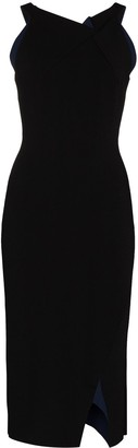 Roland Mouret Klint fitted midi dress