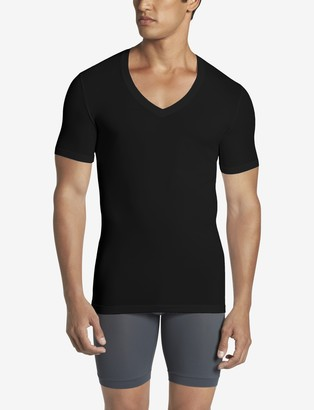 Tommy John Cool Cotton Deep V-Neck Stay-Tucked Undershirt 2.0