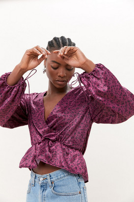 Urban Outfitters Allie Surplice Blouse