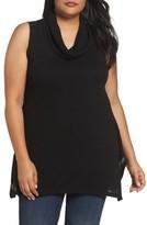 Sejour Plus Size Women's Knit Handkerchief Hem Tunic