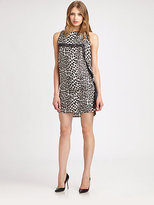 Robert Rodriguez Animal Print Dress