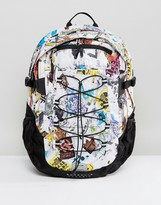 The North Face Borealis Classic Backpack 29litre In Sticker Bomb Print