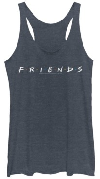 Fifth Sun Friends Classic Letters Logo Tri-Blend Women's Racerback Tank