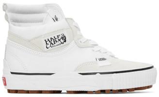 Vans White Cap Mash Hi LX Sneakers