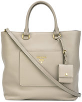 Prada large shopping bag - women - Calf Leather - One Size