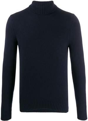 D'aniello La Fileria For turtleneck slim-fit jumper