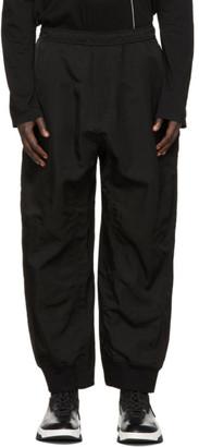 Julius Black Baggy Track Pants