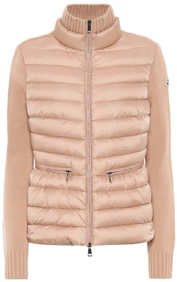 Moncler Wool, cashmere and down jacket