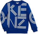 Kenzo Big Logo Sweater, Size 4-6