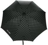 Moschino monogram logo umbrella - unisex - Polyester - One Size
