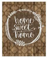 """Home Sweet Home"" 8-Inch x 10-Inch Canvas Wall Art"