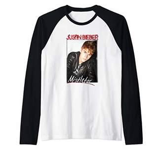 Bravado Justin Bieber Official Mistletoe Single Cover Raglan Baseball Tee