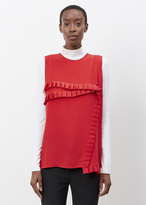 Marni Red Seamed Tank Top