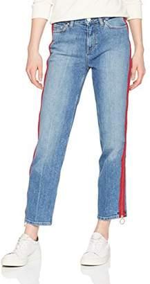 Tommy Hilfiger Women's Slim Straight Hw Ankle Sada Boyfriend Jeans,(Size: NI28)