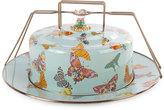 Mackenzie Childs MacKenzie-Childs Sky Butterfly Garden Cake Carrier