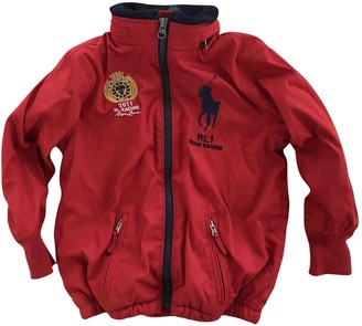 Polo Ralph Lauren Red Polyester Jackets & Coats