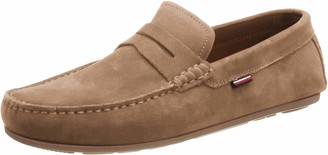 Tommy Hilfiger Men's Classic Suede Penny Loafer Mocassins