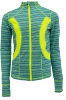 90 Degree by Reflex Kids - Girls Textured Zig Zag Jacket - Junior Activewear - Medium
