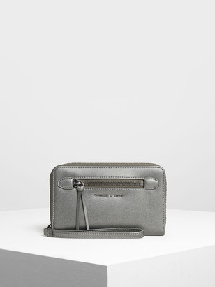 Charles & Keith Zipped Wristlet