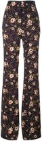 Rochas floral print trousers