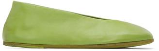 Marsèll Green Square Spatolona Ballerina Flats