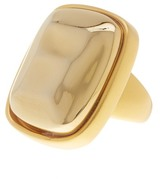 Kenneth Jay Lane Metallic Shiny Cocktail Ring